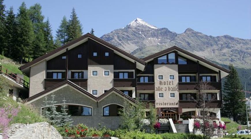 Hotel Alle Tre Baite *** - Santa Caterina Valfurva (SO) - Lombardei