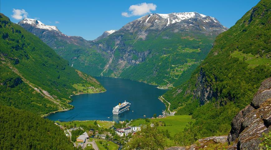 Kreuzfahrt COSTA FAVOLOSA - Norwegische Fjorde