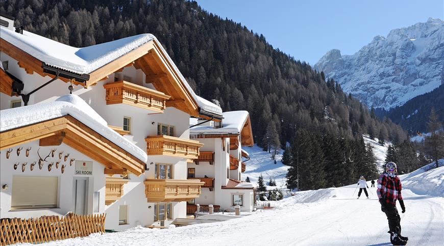 Hotel Somont **** - Wolkenstein in Groeden (BZ) - Trentino Südtirol